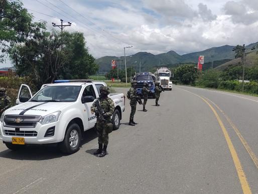 Fuerza Pública ha brindado seguridad para el paso de más de 420 mil galones de combustible.