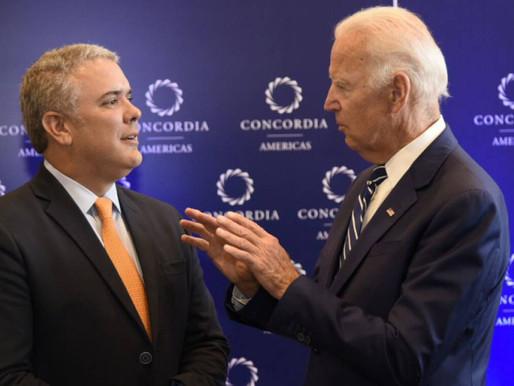 Iván Duque y Joe Biden sostuvieron primera comunicación telefónica