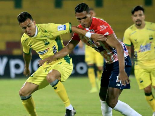 Henao le amargó la noche al Junior y salvó un punto para el Bucaramanga