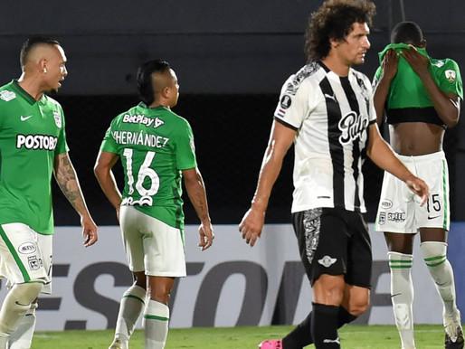 Libertad saca ventaja ante Nacional en ida de tercera fase de Libertadores