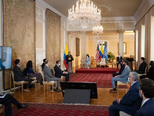 EE.UU. apoyará con USD $10 millones la reactivación económica en Colombia