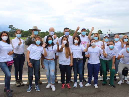 Fundación Operación Sonrisa llega a Tame, Arauca gracias a su Fuerza Aérea.