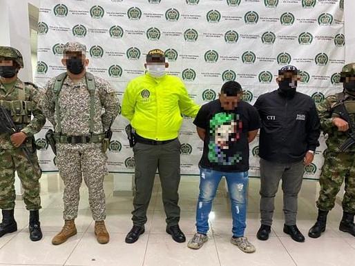 """Capturamos a presunto segundo cabecilla del """"clan del golfo"""" en Quibdó Chocó."""