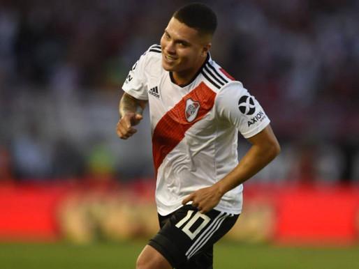 Juan Fer Quintero Marcó en la victoria de River