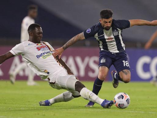 Tolima empató sin goles ante Talleres y quedó al borde de la eliminación