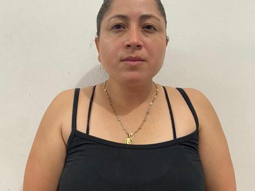 "CAPTURADA ""NOVIA DE RODRIGO GRANDA"" EN PUERTO TRIUNFO."