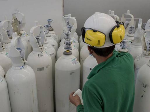 Se autorizan masivas importaciones de oxígeno para atender pandemia