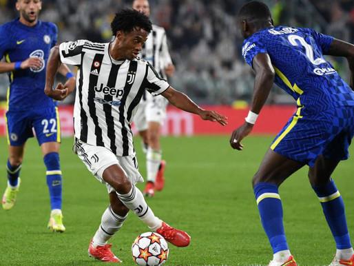 Cuadrado titular y Juventus le gana al Chelsea, vigente campeón de Europa
