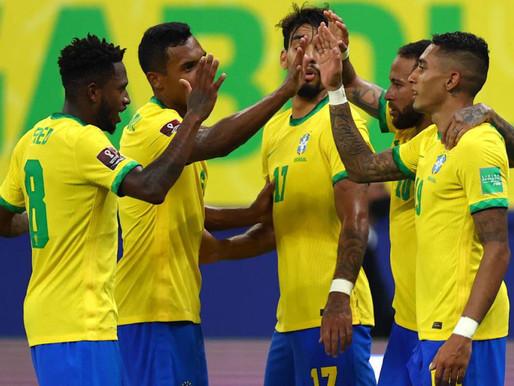 Brasil goleó a Uruguay y superó la barrera de 30 puntos en la Eliminatoria