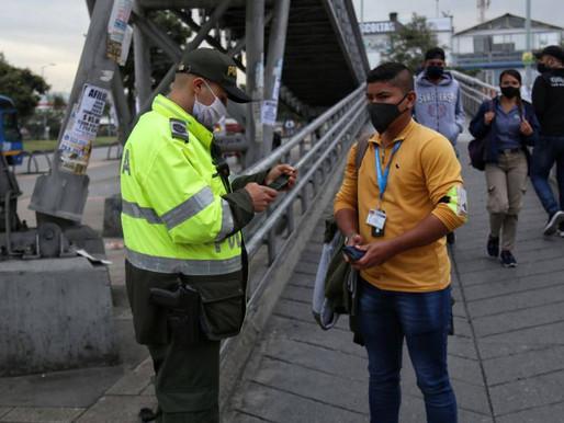 Indisciplina sin freno: 24.453 comparendos en Colombia por violar medidas