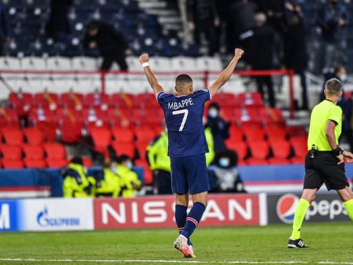 PSG tomó revancha y es el primer semifinalista de la Champions