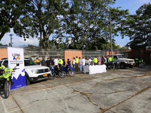 CONTINÚA LA OFENSIVA CONTRA EL TRÁFICO DE ESTUPEFACIENTES EN CALDAS
