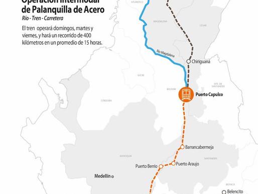 🎥 El Tren La Dorada - Santa Marta ya es un hecho!