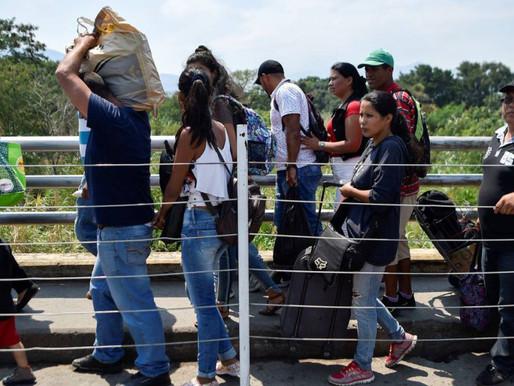 En 3 meses el número de venezolanos irregulares en Colombia creció un 120%