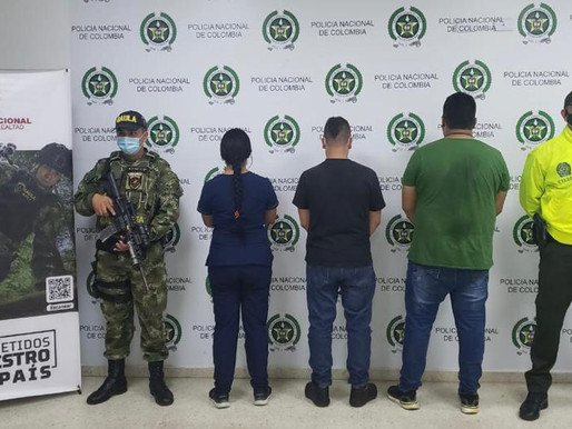 Capturados tres presuntos integrantes de la estructura delincuencial Los Skimming.