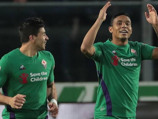 Muriel marcó pero Fiorentina cayó ante el Atalanta