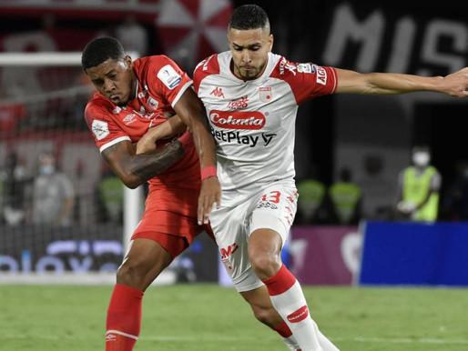 Remontada de lujo: Santa Fe le ganó a América en Cali en ida de Superliga
