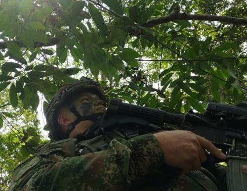 Muerto en operaciones militares segundo cabecilla de la RAER Dagoberto Ramos.