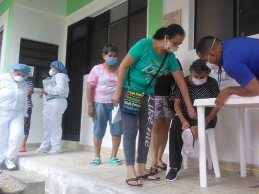 32 PERSONAS FUERON ATENDIDAS EN BRIGADA DE SALUD DEL BARRIO LAS MARGARITAS