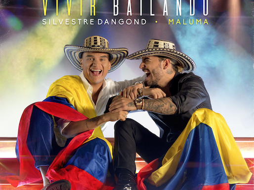 """SILVESTRE DANGOND Y MALUMA PRESENTAN SU PRIMER TEMA JUNTOS  """"VIVIR BAILANDO"""""""