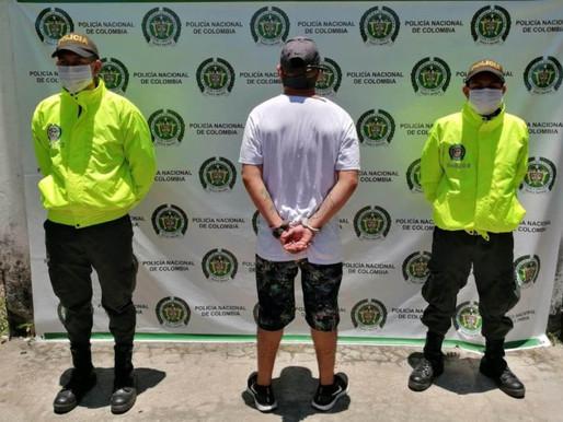 Capturaron a 'Peluza' sindicado de varios homicidios en La Dorada