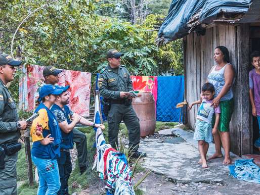 TALLER SOBRE PREVENCIÓN DE VIOLENCIA RECIBIERON HABITANTES DEL SECTOR RURAL DE LA DORADA.