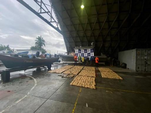 Capturados cuatro nicaragüenses que transportaban cerca de una tonelada de Marihuana.
