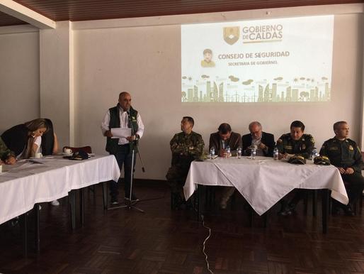 AUTORIDADES DE CALDAS DAN PARTE DE TRANQUILIDAD EN EL NORTE DEL DEPARTAMENTO