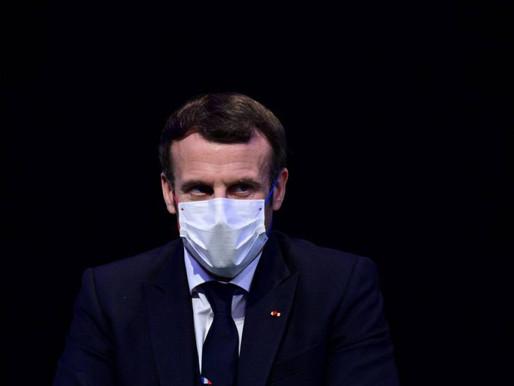 Presidente francés Emmanuel Macron positivo por coronavirus