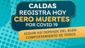 En Caldas fueron reportados 5 nuevos casos de contagio por COVID-19