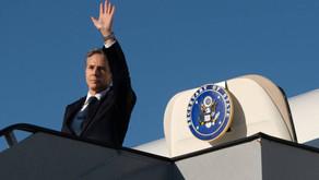 Secretario de Estado de EEUU visita Colombia para abordar crisis migratoria