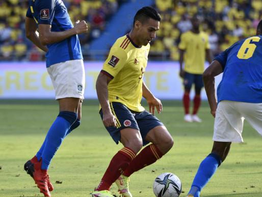 Punto de oro: Colombia cortó la racha de victorias de Brasil y sigue quinto