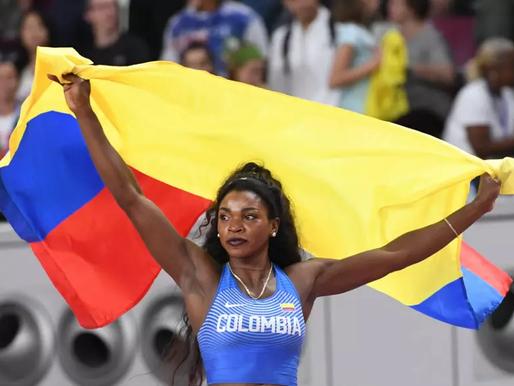Caterine Ibargüen y Yuberjen Martínez abanderados de Colombia en la inauguración de los Juegos Olímp