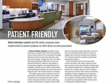 BD + C Features Kahn Project in November Issue Following Award