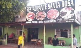 Restaurante Santa Rosa em Coxim