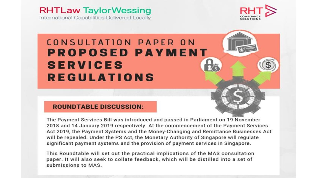 Consultant Paper on Proposed Payment Services Regulations