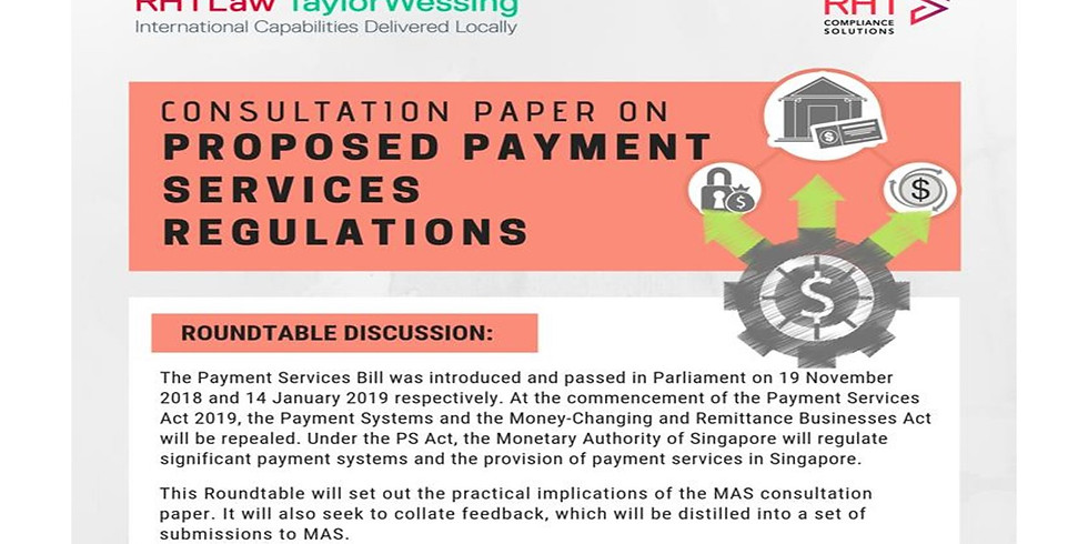 Consultant Paper on Proposed Payment Services Regulations (1)
