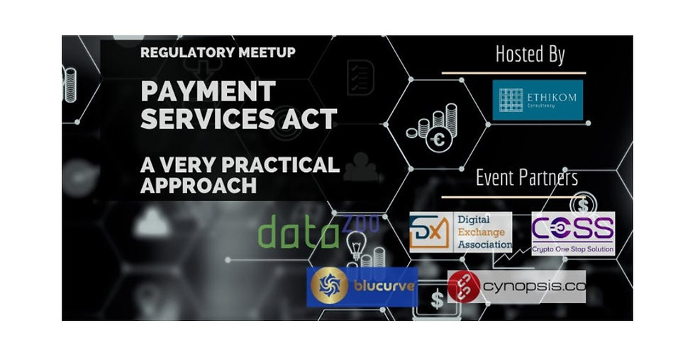 Regulatory Meetup - Payment Services Act