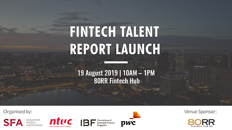 SFA fintech talent report launch 19aug19