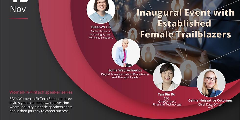 Women-in-Fintech Speaker series: Inaugural Event with Established Female Trailblazers