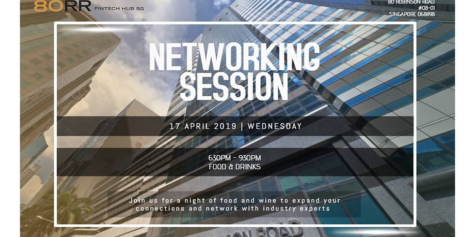 80RR and SFA Networking Session