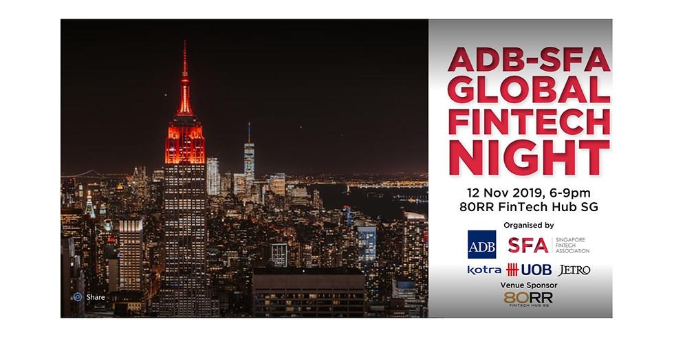 ADB-SFA Global FinTech Night