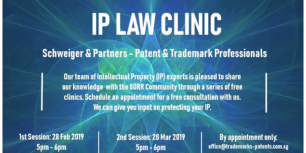 IP Law Clinic - Patent & Trademark Professionals