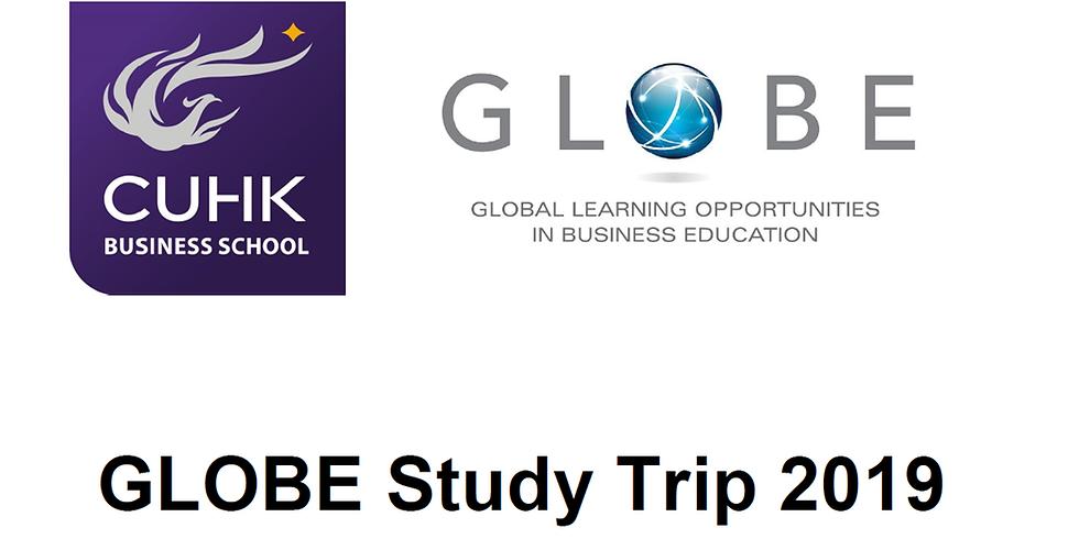 CUHK Business School GLOBE Study Trip 2019