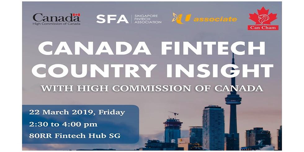 Canada Fintech Country Insight Talk