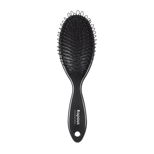 Щетка с петлями для наращенных волос