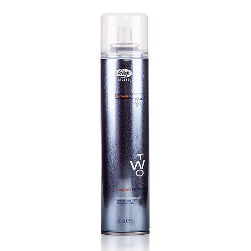 Лак для укладки волос без газа нормальной фиксации - Lisynet Two Eco Natural