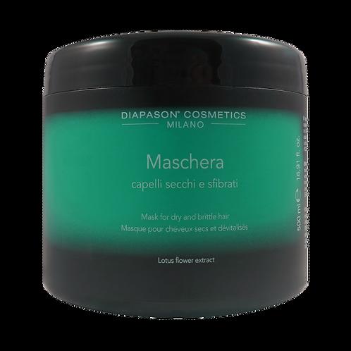 DCM Восстанавливающая маска для сухих, истощенных волос с экстрактом цветов