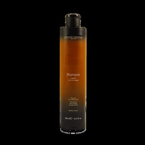 DCM Шампунь для вьющихся и кудрявых волос с экстрактом бамбука