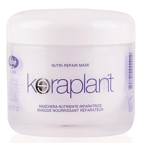 Питательная и восстанавливающая маска для сухих и поврежденных волос - Keraplant